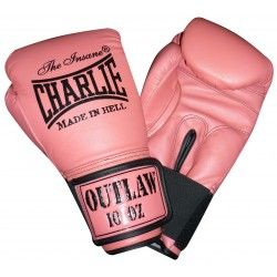 """GUANTES CHARLIE """"OUTLAW"""" ROSA"""