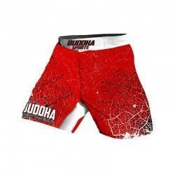 "SHORT MMA ""Electro Red"""