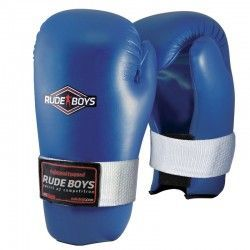 GUANTES SEMI CONTACT RUDE BOYS Azul