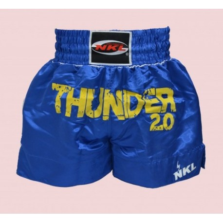 SHORT THUNDER azul-amarillo