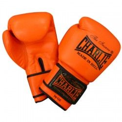 GUANTES CHARLIE ORANGE 12 oz