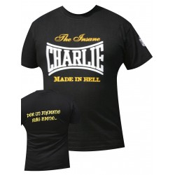 """CAMISETA CHARLIE """" Made in Hell"""""""