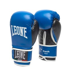 "GUANTES LEONE ""FLASH"" AZUL 10 oz."