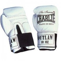 GUANTES CHARLIE OUTLAW BLANCO 10 oz.
