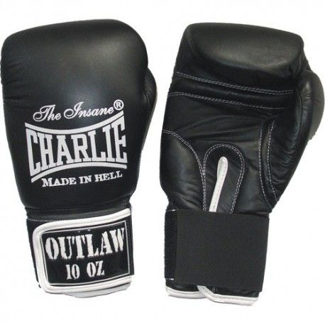 GUANTES CHARLIE OUTLAW NEGRO 10 / 12 oz